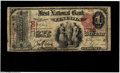 National Bank Notes:Nebraska, Lincoln, NE - $1 1875 Fr. 383 The First NB Ch. # 1798 An excessively rare type from Nebraska, where the census shows on...