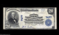 National Bank Notes:Nebraska, Randolph, NE - $20 1902 Plain Back Fr. 650 The Security NB Ch. # 7477 This Very Fine $20 Plain Back is from one of ...