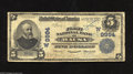 National Bank Notes:Nebraska, Wausa, NE - $5 1902 Plain Back Fr. 601 The First NB Ch. # (W)9994 Large examples only from this bank, with this note co...
