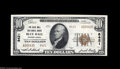 National Bank Notes:Pennsylvania, Blue Ball, PA - $10 1929 Ty. 2 The Blue Ball NB Ch. # 8421 Whileseveral new pieces from this always in demand bank wer...