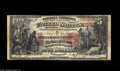 National Bank Notes:Pennsylvania, Brookville, PA - $5 1875 Fr. 404 The Jefferson County NB Ch. # 2392A nice evenly circulated example of this much in de...