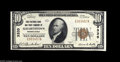 National Bank Notes:Pennsylvania, Elizabethtown, PA - $10 1929 Ty. 1 The FNB&TC of ElizabethtownCh. # 3335 An About Uncirculated example just a few...