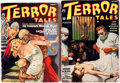 Pulps:Horror, Terror Tales Group of 2 (Popular, 1935).... (Total: 2 Items)