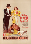 "Movie Posters:Mystery, After the Thin Man (MGM, 1936). Pre-War Belgian (16"" X 23"").. ..."