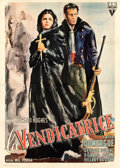 "Movie Posters:Crime, Vendetta (RKO, 1950). Italian 4 - Fogli (55"" X 77.25"") Ercole BriniArtwork.. ..."