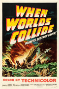"""Movie Posters:Science Fiction, When Worlds Collide (Paramount, 1951). One Sheet (27"""" X 41"""").. ..."""