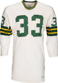 Football Collectibles:Uniforms, 1970 Jim Grabowski Game Worn Green Bay Packers Jersey....