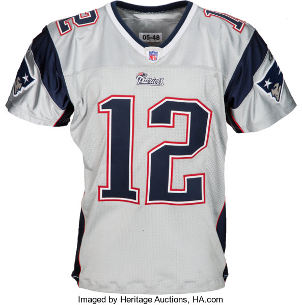 the best attitude 823a6 ee649 2006 Tom Brady Game Worn New England Patriots Uniform, Photo ...