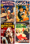 Pulps:Detective, Assorted Detective Pulps Group of 4 (Various, 1937-50) Condition:Average VG+.... (Total: 4 Comic Books)