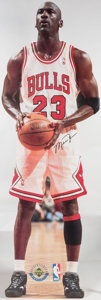 Basketball Collectibles:Others, Life Sized UDA Michael Jordan Stand-Up Cardboard Cut Out.. ...