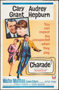 "Movie Posters:Mystery, Charade (Universal, 1963). One Sheet (27"" X 41""). Mystery.. ..."