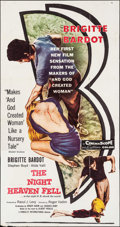 """Movie Posters:Foreign, The Night Heaven Fell (Kingsley International, 1958). Three Sheet (41"""" X 77.5""""). Foreign.. ..."""
