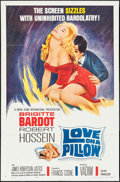 "Movie Posters:Foreign, Love on a Pillow (Royal Films International, 1963). One Sheet (27"" X 41""). Foreign.. ..."