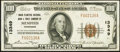 National Bank Notes:Tennessee, Memphis, TN - $100 1929 Ty. 1 Union Planters NB & TC Ch. #13349. ...
