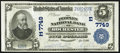 National Bank Notes:Pennsylvania, Rochester, PA - $5 1902 Plain Back Fr. 598 The Peoples NB Ch. #(E)7749. ...