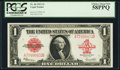 Large Size:Legal Tender Notes, Fr. 40 $1 1923 Legal Tender PCGS Choice About New 58PPQ.