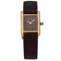 Cartier Lady's Silver Must De Cartier Watch, French