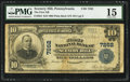 National Bank Notes:Pennsylvania, Scenery Hill, PA - $10 1902 Plain Back Fr. 624 The First NB Ch. #7262. ...