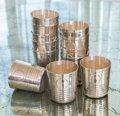 Silver & Vertu:Hollowware, Twelve Mexican Silver Tumblers, Mexico City, Mexico, 20th century. Marks: 925, MM, HECHO EN MEXICO, D.F . 3-1/4 inches h... (Total: 12 Items)