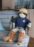 Other, A Mixed Media Oversized Polo Player Doll Made by Zsa Zsa Gabor. 42 inches high (106.7 cm). ...
