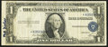 Error Notes:Shifted Third Printing, Misaligned Third Printing Error Fr. 1614* $1 1935E Silver Certificate Star. Very Fine.. ...