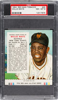 Baseball Cards:Singles (1950-1959), 1954 Red Man (With Tab) Willie Mays #25N PSA NM-MT 8....