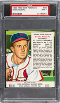 Baseball Cards:Singles (1950-1959), 1953 Red Man (With Tab) Stan Musial #26N PSA NM 7....