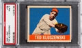 Baseball Cards:Singles (1940-1949), 1948 Leaf Ted Kluszewski #38 PSA NM 7. Great color...