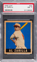 Baseball Cards:Singles (1940-1949), 1948 Leaf Al Zarilla #36 PSA NM 7....