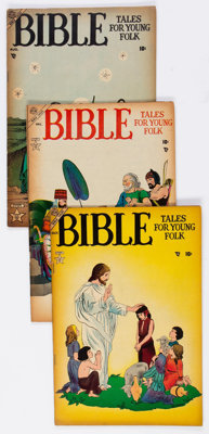 Bible Tales for Young Folk #1-5 Complete Series Group (Atlas, 1953-54) Condition: Average VG.... (Total: 5 Comic Books)