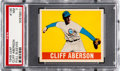 Baseball Cards:Singles (1940-1949), 1948 Leaf Cliff Aberson (Full Sleeves) #136 PSA NM 7....