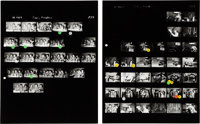 Jimi Hendrix Experience - Massive Group of Photo Negatives with Contact Sheets and Copyright (Germany, 1967)