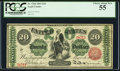 Large Size:Legal Tender Notes, Fr. 126b $20 1863 Legal Tender PCGS Choice About New 55.