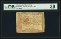 Colonial Notes:Continental Congress Issues, Continental Currency January 14, 1779 $20 PMG Very Fine 30.. ...