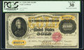 Large Size:Gold Certificates, Fr. 1225h $10,000 1900 Gold Certificate PCGS Very Fine 30.. ...