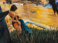 Paintings, Zhou Zixi (Chinese, b. 1970). Sometimes young couples can't control passion, 2006. Oil on canvas. 63 x 47-1/4 inches (16...