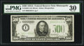 Small Size:Federal Reserve Notes, Fr. 2202-I $500 1934A Federal Reserve Note. PMG Very Fine 30.. ...