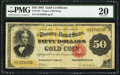 Large Size:Gold Certificates, Fr. 1197 $50 1882 Gold Certificate PMG Very Fine 20.. ...