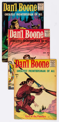 Dan'l Boone #1-8 Complete Series Group (Sussex Publishing, 1955-57) Condition: Average VG+.... (Total: 8 Comic Books)