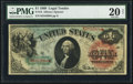 Large Size:Legal Tender Notes, Fr. 18 $1 1869 Legal Tender PMG Very Fine 20 Net.