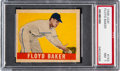 Baseball Cards:Singles (1940-1949), 1948 Leaf Floyd Baker #153 PSA NM 7....