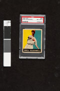 Baseball Cards:Singles (1940-1949), 1948 Leaf Ewell Blackwell #39 PSA NM-MT 8. Very ni...