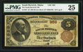 National Bank Notes:Maine, South Berwick, ME - $5 1882 Brown Back Fr. 467 The South Berwick NBCh. # 959. ...