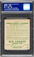 Baseball Cards:Singles (1930-1939), 1933 Goudey Mickey Cochrane #76 PSA NM 7. Offered ...