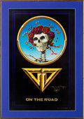 Music Memorabilia:Posters, Grateful Dead - On the Road Poster Signed by Stanley Mouse(1978)....