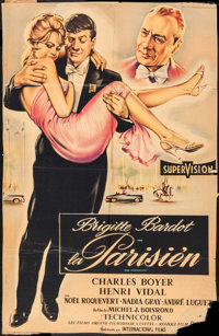 """La Parisienne (United Artists, 1958). French One Sheet (27"""" X 40""""). Foreign"""