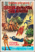"""Movie Posters:Science Fiction, Battle Beneath the Earth (MGM, 1968). International One Sheet (27""""X 41""""). Science Fiction.. ..."""