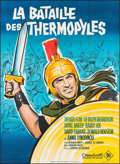 "Movie Posters:Action, The 300 Spartans (20th Century Fox, 1962). French Grande (45"" X62""). Action.. ..."