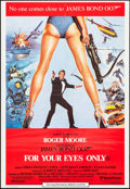"Movie Posters:James Bond, For Your Eyes Only (United Artists, 1981). Australian One Sheet (27"" X 39.5""). James Bond.. ..."
