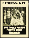 "Movie Posters:Rock and Roll, The Rocky Horror Picture Show (20th Century Fox, 1975). Presskit(9"" X 11.75) with Photos (14) (8"" X 10""). Rock and Roll.. ...(Total: 15 Items)"